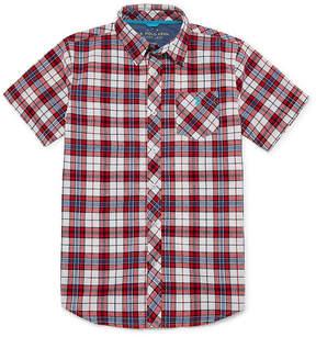 U.S. Polo Assn. USPA Short Sleeve Button-Front Shirt Boys