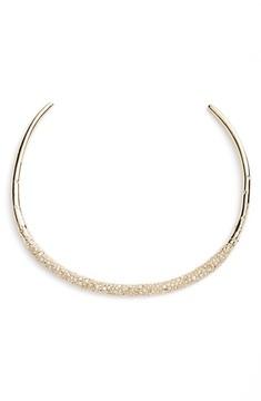 Alexis Bittar Women's Thin Encrusted Collar Necklace