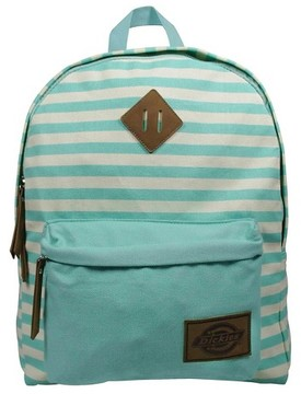 Dickies® Printed Classic Canvas Backpack Handbag with Front Zip Pocket - Mint