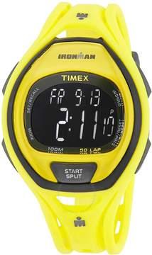 Timex Ironman Yellow Resin Unisex Digital Watch