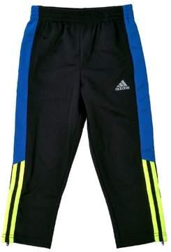 adidas Striker Soccer Pant - Grey Heather Body Solar Yellow - Boys - 4