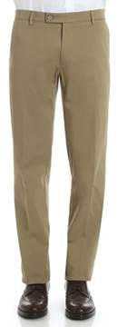 Berwich Men's Green Cotton Pants.