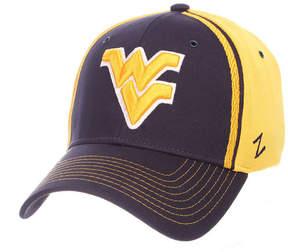 Zephyr West Virginia Mountaineers Pattern Pipe Stretch Cap