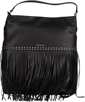 Twin-Set Twinset Fringed Detail Tote