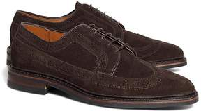 Brooks Brothers Suede Wingtips