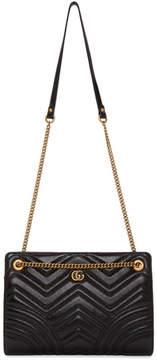 Gucci Black GG Marmont 2.0 Bag