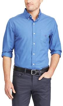 Chaps Big & Tall Regular-Fit Stretch Easy-Care Button-Down Shirt