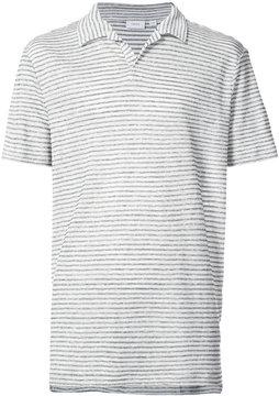 Onia Shaun striped polo shirt