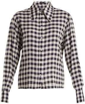 Joseph Charlie gingham shirt