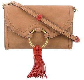 Tory Burch Tassel-Embellished Crossbody Bag - BROWN - STYLE
