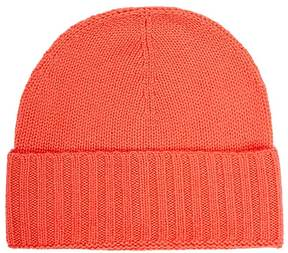 Barneys New York WOMEN'S FOLDED-CUFF CASHMERE HAT
