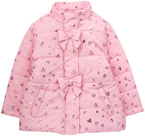 Gymboree Pink Heart Bow-Detail Jacket - Infant, Toddler & Girls