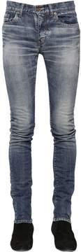 15cm Low Rise Stretch Denim Jeans