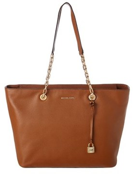 MICHAEL Michael Kors Mercer Leather Tote. - LUGGAGE - STYLE