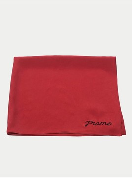 Frame Embroidered Silk Scarf