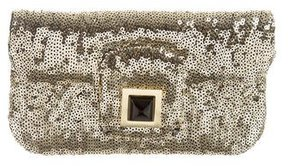 Kara Ross Sequin Envelope Clutch