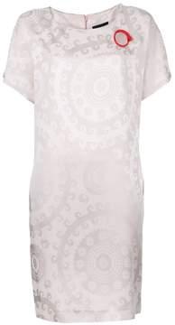 Class Roberto Cavalli stylised print dress