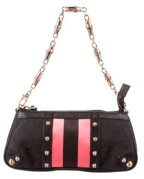Gucci Mini GG Canvas Pochette - BLACK - STYLE