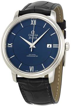 Omega De Ville Prestige Blue Dial Men's Watch 42413402003001