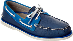 Sperry Men's Gold A/O 2-Eye Leather Boat Shoe