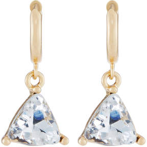 Fragments for Neiman Marcus Triangle Cubic Zirconia Drop Earrings