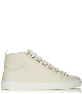 Balenciaga Arena high-top leather trainers