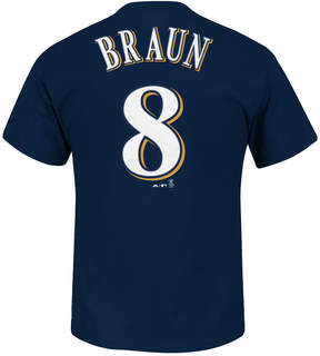 Majestic Men's Ryan Braun Milwaukee Brewers Player T-Shirt