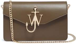 J.W.Anderson Logo plate leather shoulder bag