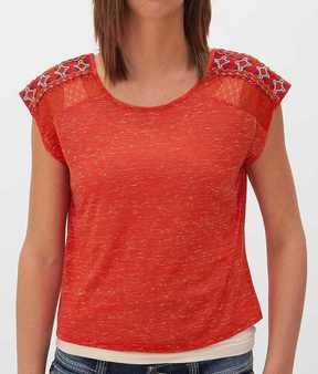 Eyeshadow Slub Fabric Top