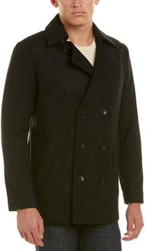 Ike Behar Abrams Wool-Blend Coat