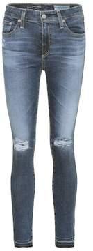 AG Jeans Farrah cropped skinny jeans