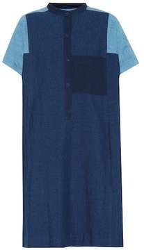 A.P.C. Temple cotton and linen dress