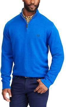 Chaps Men's Classic-Fit Cool Max Stretch Quarter-Zip Sweater