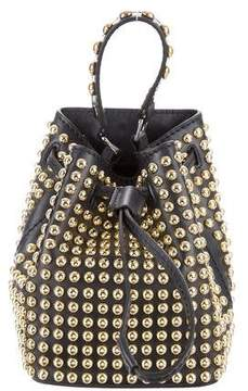Kenzo Studded Mini Biker Bucket Bag