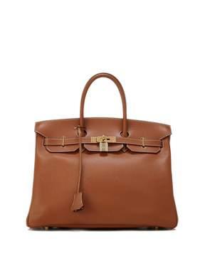 Hermes Vintage Candy Birkin Epsom Leather Satchel Bag, Brown - BROWN - STYLE