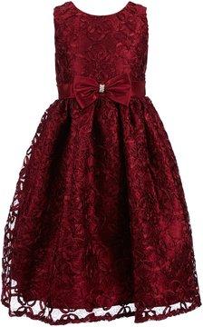 Jayne Copeland Big Girls 7-12 A-Line Bow Dress