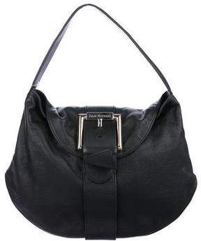 Isaac Mizrahi Pebbled Leather Hobo