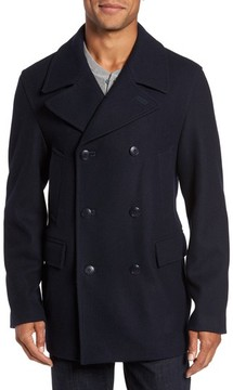 Nordstrom Men's Wool Blend Peacoat