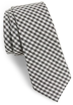 1901 Men's Cahill Check Skinny Tie