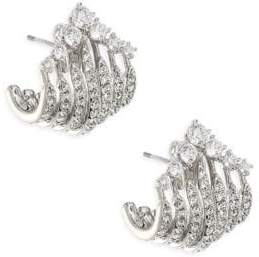 Adriana Orsini Greta Wrap Crystal Earrings