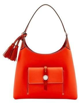 Dooney & Bourke Cambridge Small Hobo Shoulder Bag. - PERSIMMON - STYLE