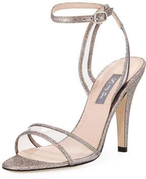 Sarah Jessica Parker Queen Glitter Slingback Pump