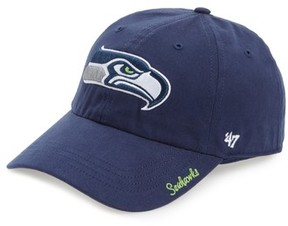 '47 Women's Seattle Seahawks Cap - Blue
