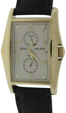 Patek Philippe 5100J 10 Day Power Reserve 18K Yellow Gold Mens Watch