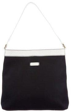 Gucci Canvas Shoulder Bag - BLUE - STYLE