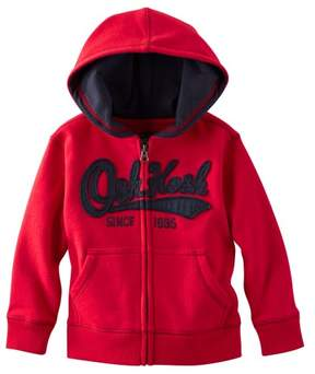 Carter's OshKosh B'gosh Baby Clothing Outfit Boys' Logo Hoodie- Red - 6 Months