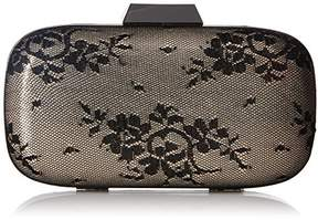 Jessica McClintock Emme Shimmer Lace Minaudiere