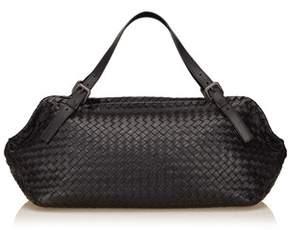 Bottega Veneta Pre-owned: Intrecciato Leather Duffel Bag.