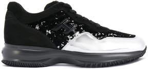 Hogan contrast upper sneakers