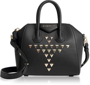 Givenchy Studded Black Mini Antigona Satchel Bag